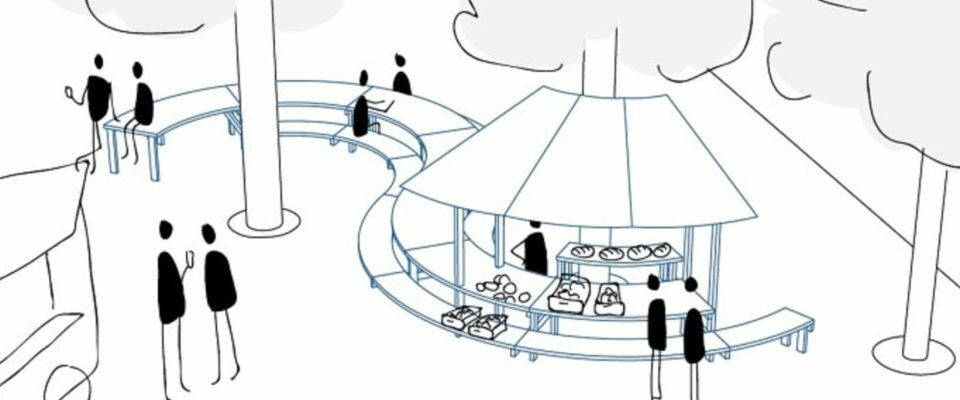 Saint-Nazaire : des bancs et des tables sur la place de Prézégat pour retrouver une ambiance de village